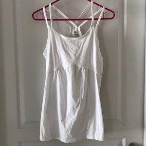 SOMA Sport Strappy Cotton Blend Yoga Top